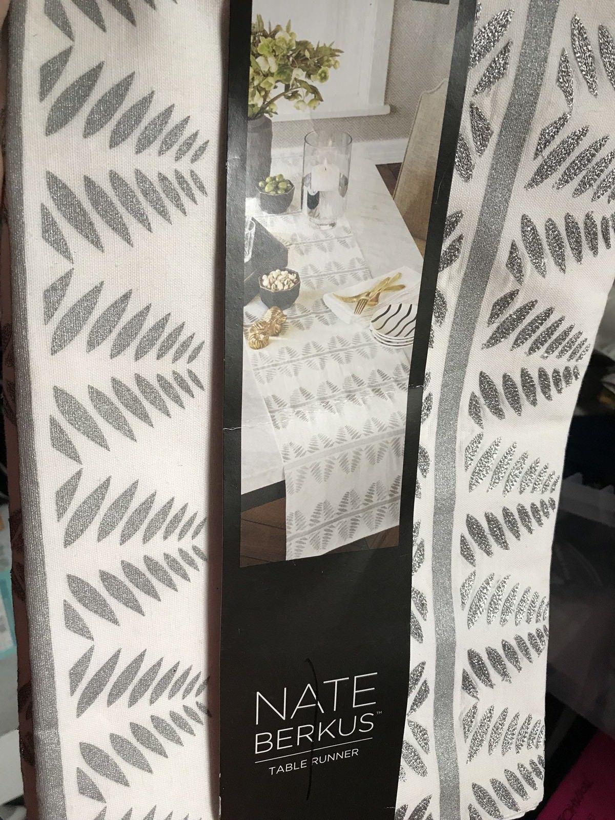 Nate Berkus Embroidered Table Runner