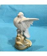"Vintage Lefton China White Dove Figurine #KW2291 Hand Painted Japan 4.5"" - $12.38"