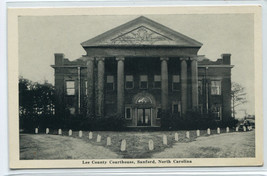 Court House Sanford North Carolina postcard - $6.44