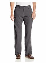 Lee Men's Weekend Chino Straight Fit Flat Front Pant 36X29 - $28.49