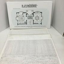 Cheryl Howards E Z Decorator Furniture And Room Planner Large Portfolio  - $75.00