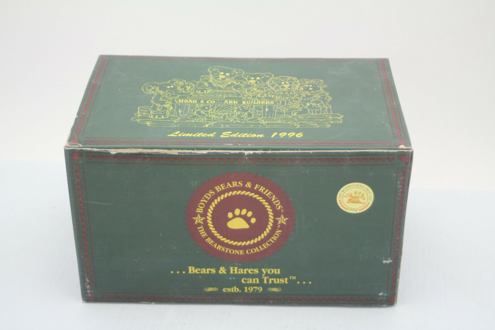 The Boyds Collection Noah & Co. Ark Builders Limited Edition 1996 image 9