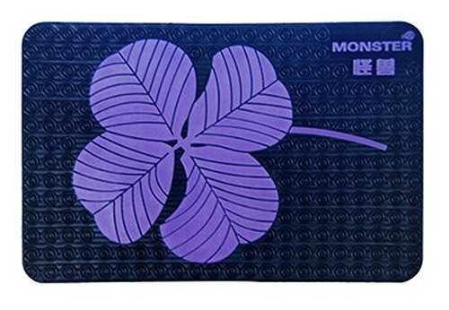 PANDA SUPERSTORE Universal Car Dashboard Non-Slip Mat Car Non-Slip Mats Purple C
