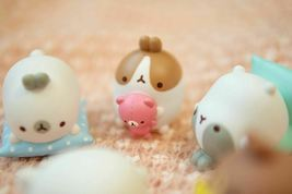 Molang Figures Volume 5 Lazy Sunday Set Miniature Figures Toy Set (5 Counts) image 6