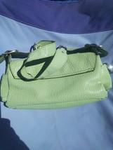 Guess green small handbag - $33.25