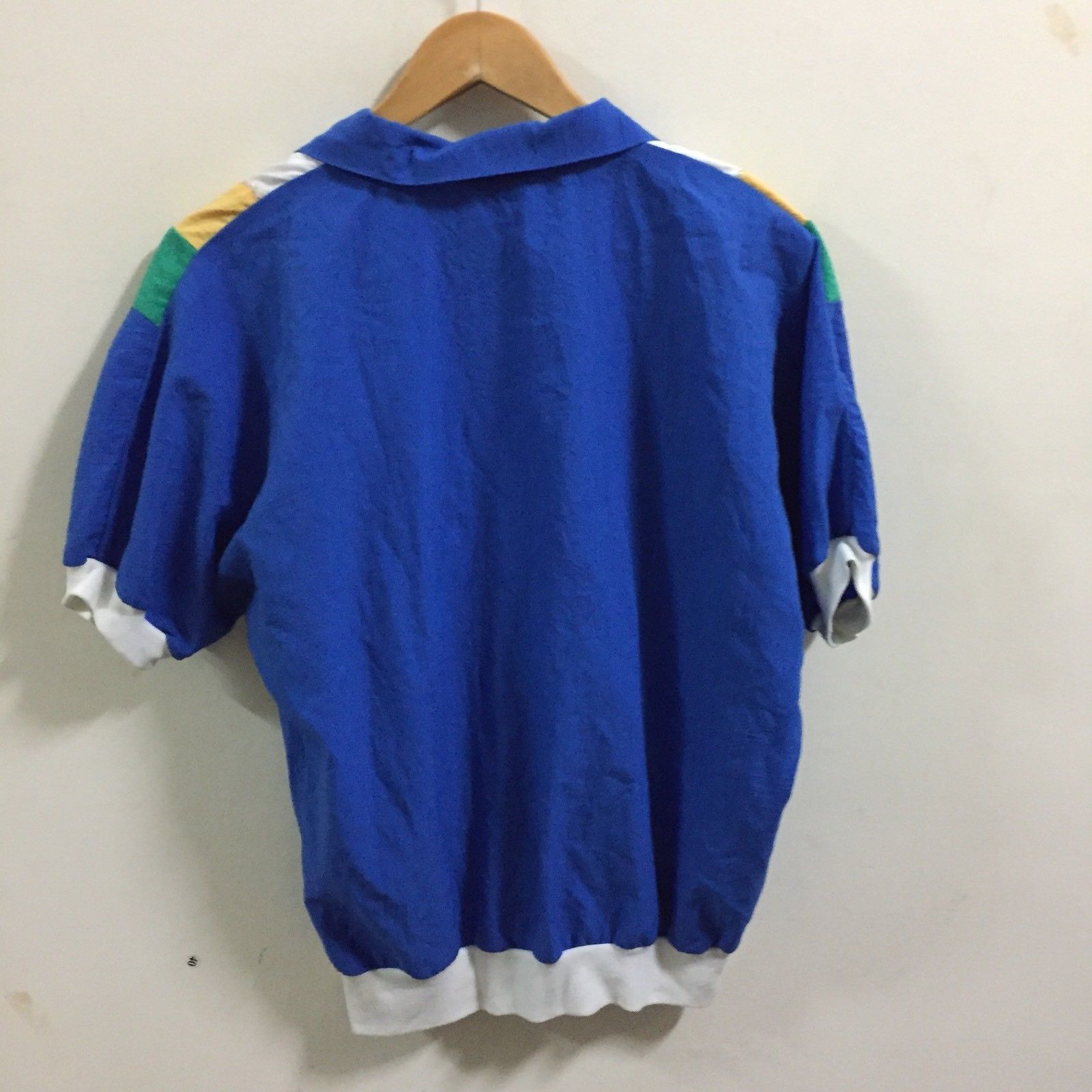 VTG 90's Gape God Tops T-Shirt SZ L ColorBlock  Rare Made In USA image 7