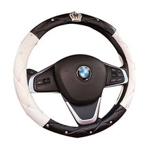 Cute Car Steering Wheel Sets Handlebars Sets Crown Non - slip Car Supplies