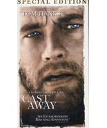 CAST AWAY (vhs) *NEW* Tom Hanks is sole survivor of plane crash on remote island - $7.99