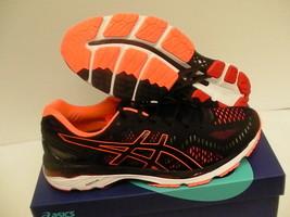 Asics Hombres Zapatos Gel Kayano 23 Negro Naranja Intenso Vermillion Tamaño 13US - $136.24
