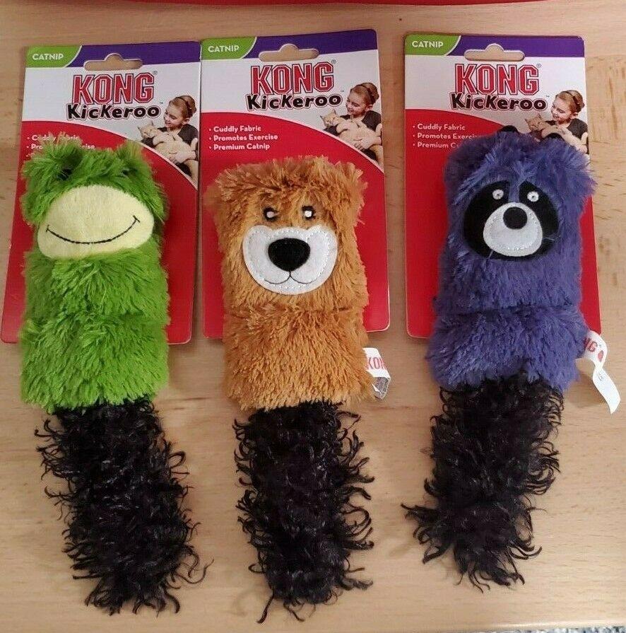 KONG Cat Cozie Kickeroo Cat Toy