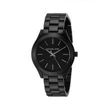 Michael Kors MK3587 Mini Slim Runway Black Dial Ladies Watch - $176.13