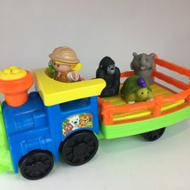Fisher Price Little People Choo Choo Zoo Train, Zoo Keeper & 3 Animals - $11.29