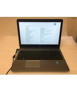 "HP Probook 650 G1 15"" Intel Core i5-4300M 2.60GHz 4GB RAM No AC/HDD/Cover - $173.25"
