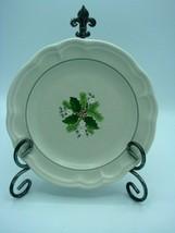 Set of 2 Vintage Christmas Heirloom by PFALTZGRAFF Salad Plates  Width: ... - $15.09