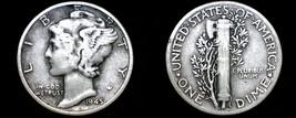 1945-P Mercury Dime Silver - $5.99