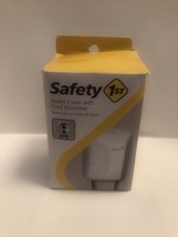Safety 1St Outlet Cover With Cord Shortener (Open Box) - $8.95