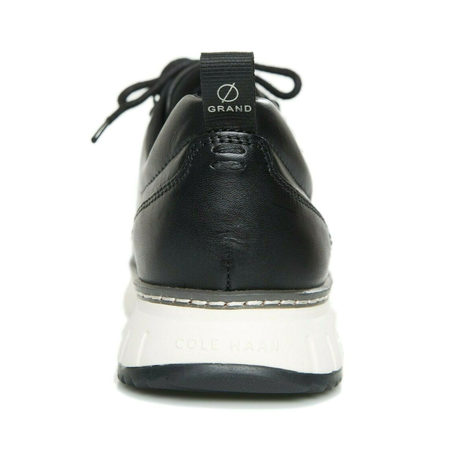 COLE HAAN ZEROGRAND RUGGED OXFORD LEATHER BLACK SIZE 10 NEW WITH BOX (C28466)