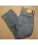 Levis 514 Mens Blue Jeans Red Tab Size 34x30 - $34.99