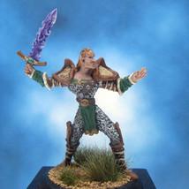 Painted Ral Partha MageKnight Miniature Crystal Bladesman - $37.25