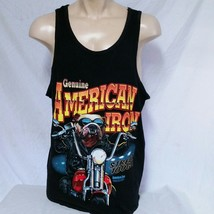 VTG 1997 American Iron Magazine T Shirt Tank Top 90s Biker Hog Trucker D... - $34.99