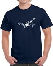 Bass Guitar Heartbeat Music Lover T Shirt Novelty Fashion Glam Rock Gift... - $12.84+