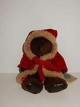"Boyds Bear 12"" Isaiah Santa Bear w/Tags - $9.99"