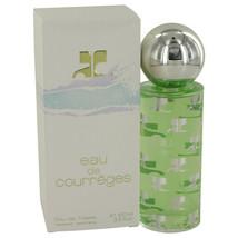 Eau De Courreges Perfume By Courreges For Women 3.4 Oz Eau De Toilette Spray - $35.95