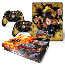 One Piece Anime Xbox one X Skin for Xbox one X Console and Controllers - $17.00