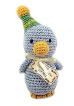 Mirage Pet Products 500-006 Knit Knacks Disco Duck Organic Cotton Dog Toy, Small - $14.99