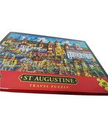 Dowdle Folk Art Wood Travel Jigsaw Puzzle - St Augustine (60pcs)  by Eri... - $24.99