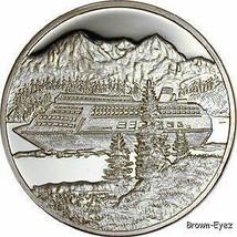 Alaska Mint Cruise Ship Medallion Proof 1Oz Boxed - $107.79