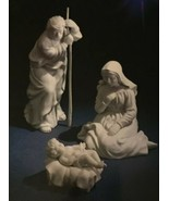 AVON NATIVITY COLLECTIBLES - HOLY FAMILY - THREE PORCELAIN FIGURINES - 1981 - $19.79