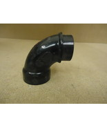 Canplas 90 Degree Elbow Black 1 1/2in x 1 1/2in H x Spigot Plumbing ABS - $7.26