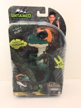 WowWee Fingerlings Untamed Raptor Dinosaur Fingerling - Fury - Green/Ora... - $32.77