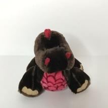 "Ganz Webkinz Cocoa Dinosaur 7"" Plush Stuffed Animal Beanie No Code - $9.89"