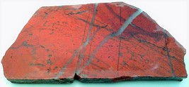 Red Jasper 1 Gemstone Slab Cabbing Rough - $4.60