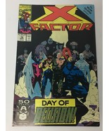 X Factor Day of Decision Vol 1 No 70 Marvel Comic Book Sep 1991 VG - $12.13