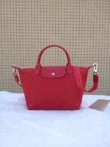 Longchamp Le Pliage Medium Red Handbag Neo Shoulder Strap 1512578545 - $84.99