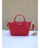 Longchamp Le Pliage Medium Red Handbag Neo Shoulder Strap 1512578545 - $79.99