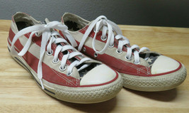 Converse American Flag Stars & Stripes Shoes Mens 6 Womens M 3494 - $34.64