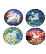The Diamond Unicorn Collector Plate The Franklin Mint - $49.95