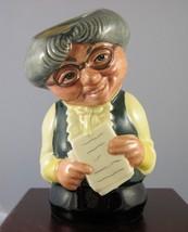 "Royal Doulton Toby Jug ""Miss Studious The Schoolmistress"" - D6722 - $35.62"