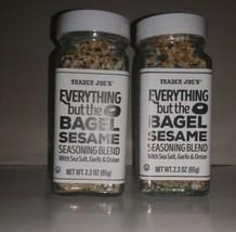 Everything But The Bagel Sesame Seasoning Blend Sealed 2 Pack Trader Joe's - £4.58 GBP