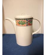 MIKASA INTAGLIO NATURE'S CANVAS TEAPOT COFFEE TEA HOT CHOCOLATE SERVER P... - $14.99