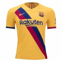 19-20 Barcelona Away Yellow Soccer Jerseys Shirt(Player Version) Barcelo... - $55.99