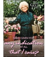 The Golden Girls TV Series Sophia Indication I Care? Photo Refrigerator ... - $3.99