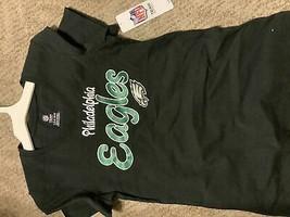 NFL Philadelphia Eagles Girls' Short Sleeve V-Neck Core T-Shirt - L - $10.00