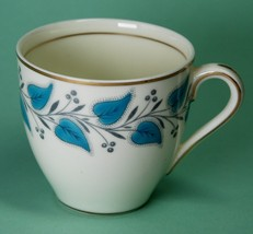 Royal Doulton Coventry Turquoise Blue Demitasse Cup V2254  - $8.00