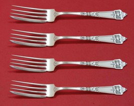 "Lansdowne by Gorham Sterling Silver Fish Fork Set 4pc AS Custom Made 7"""