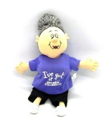 Russ Sassy Grannie Doll I'VE GOT IT &  MEN STILL WANT IT! Plush Stuffed Toy - $9.89